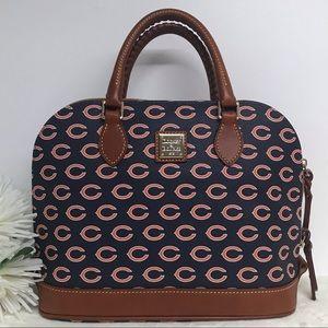 Dooney & Bourke NFL Chicago Bears Zip Purse Bag